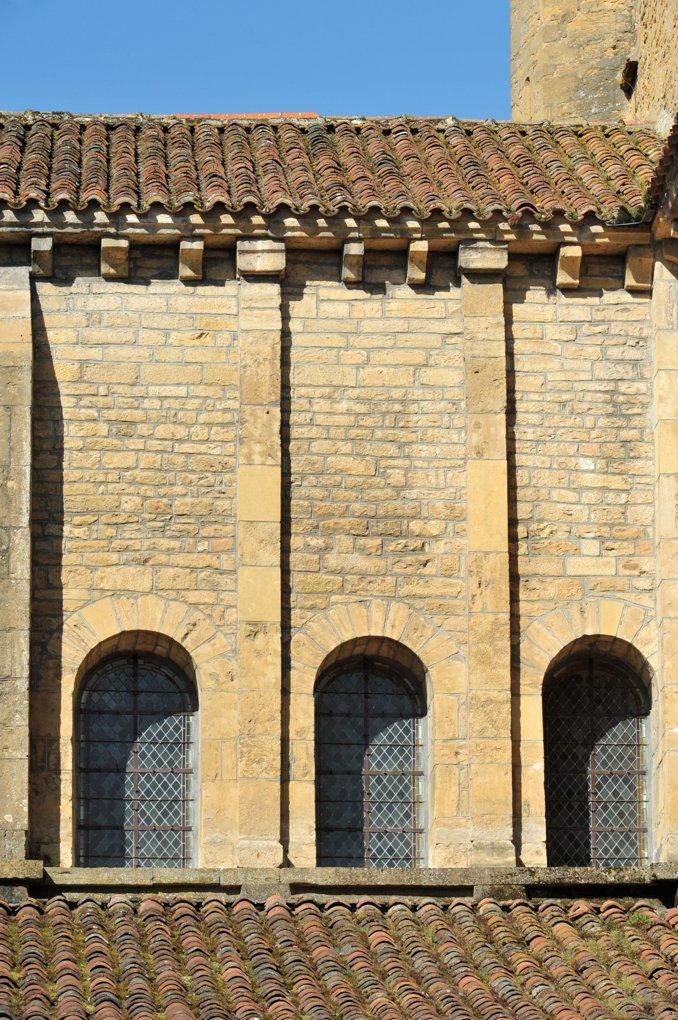 Paray-le-Monial - Ancienne priorale Notre-Dame - Bras sud du transept