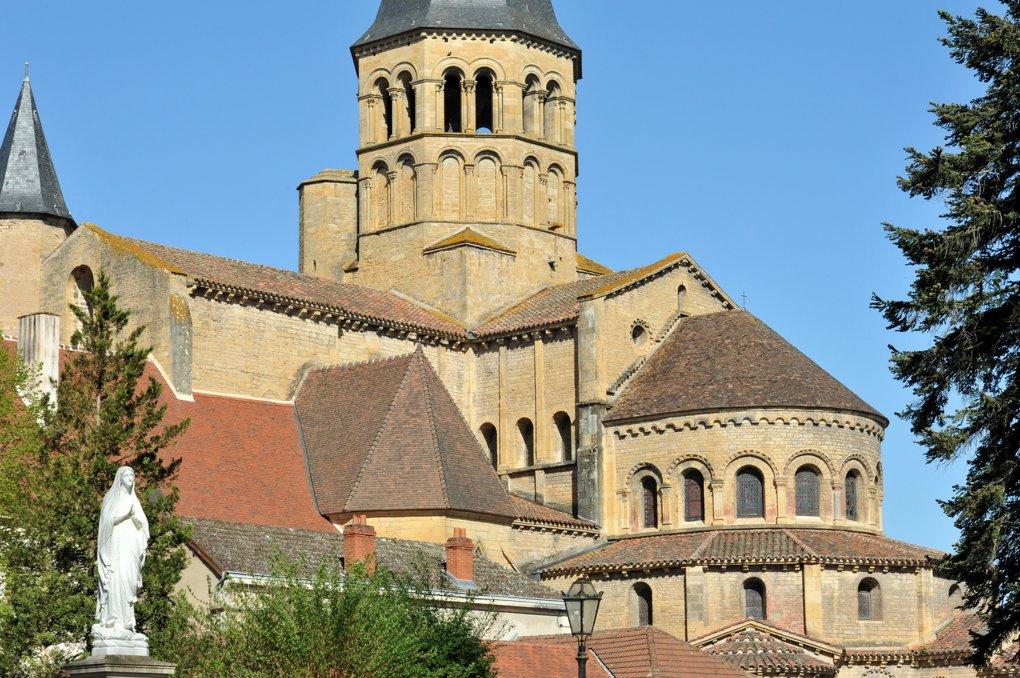 Paray-le-Monial - Ancienne priorale Notre-Dame - Le chevet