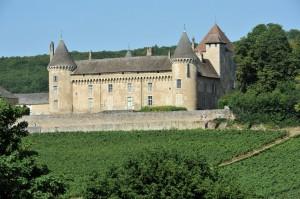 Rully (71) - Le château (XIIe-XVe siècle)