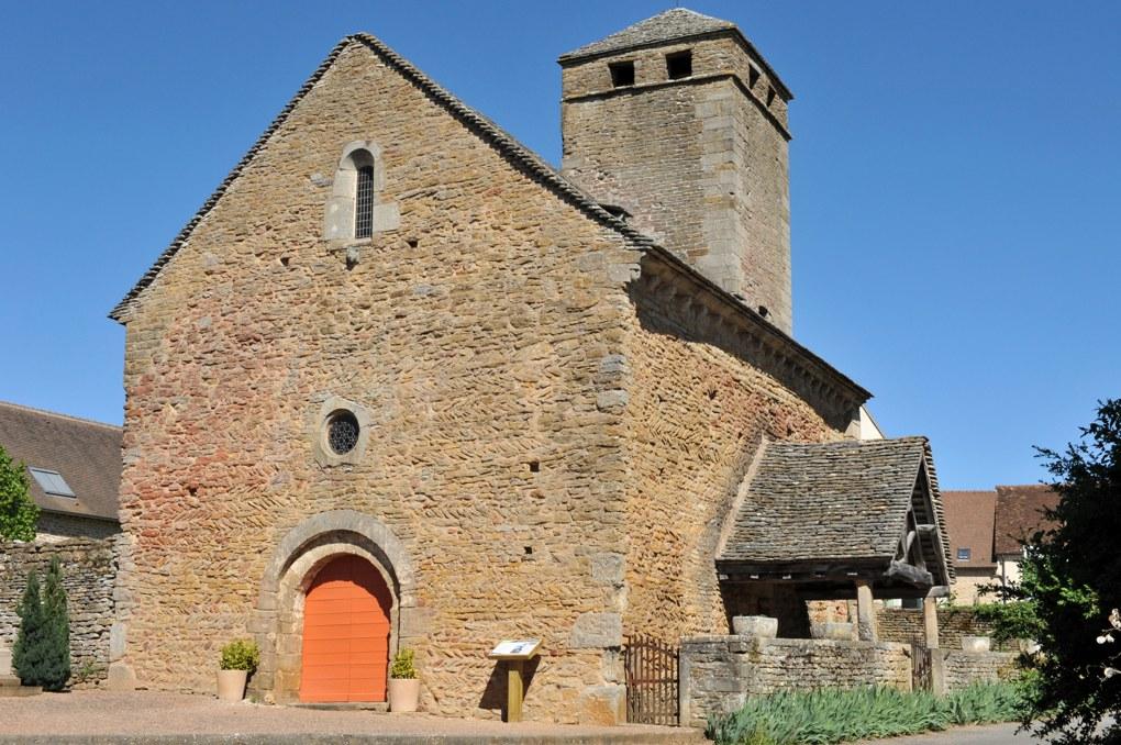 Saint-Clément-sur-Guye - Eglise Saint-Clément (fin Xe et XIIe siècle)