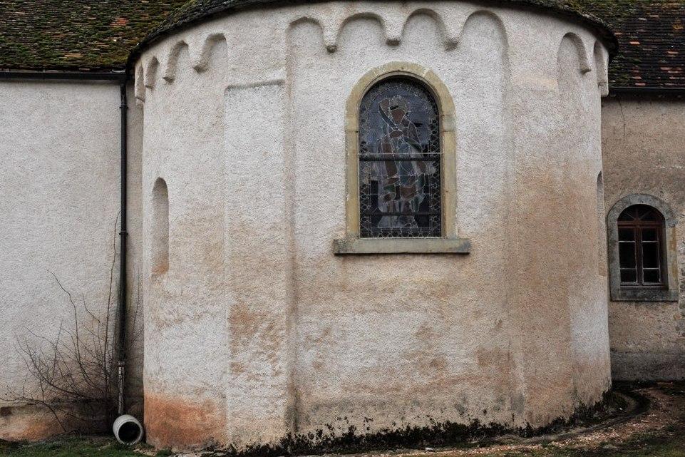 Saint-Huruge - Eglise Saint-Eusèbe - Abside (v. 1100)