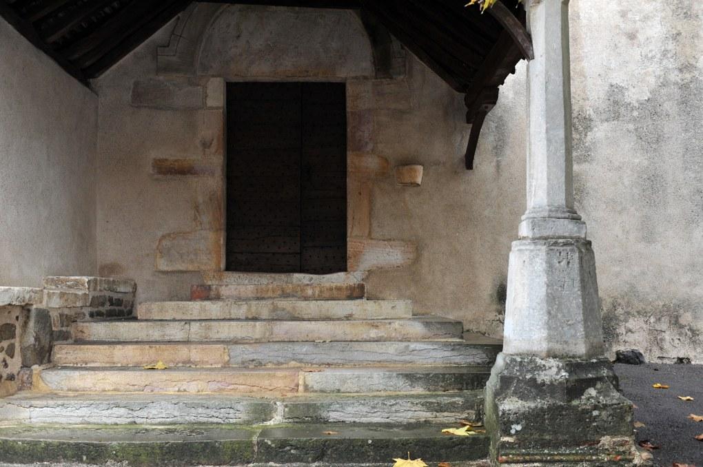 Saint-Jean-de-Vaux - Eglise Saint-Jean-Baptiste - Porche