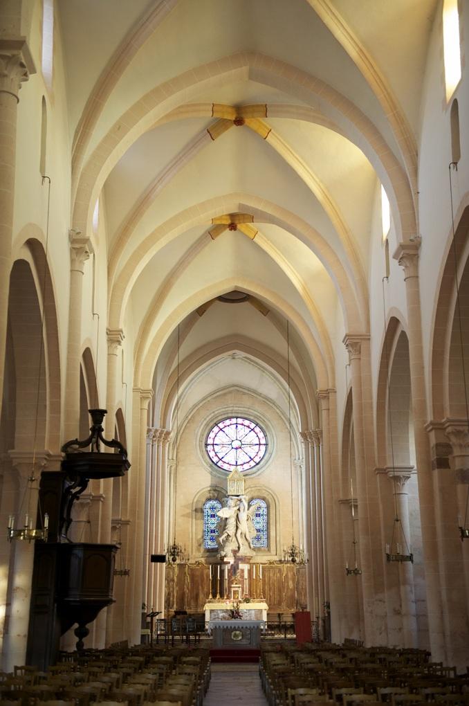 Saint-Marcel - Eglise priorale (Xe au XVe siècle)
