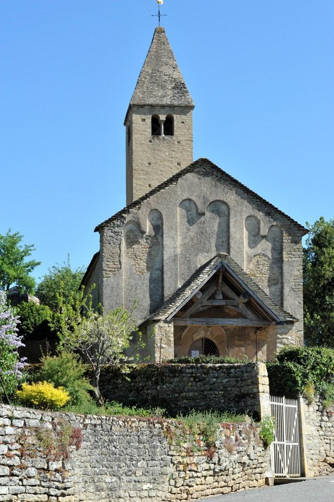 Vaux-en-Pré - Eglise Saint-Roch (XIe-XIIe siècle)