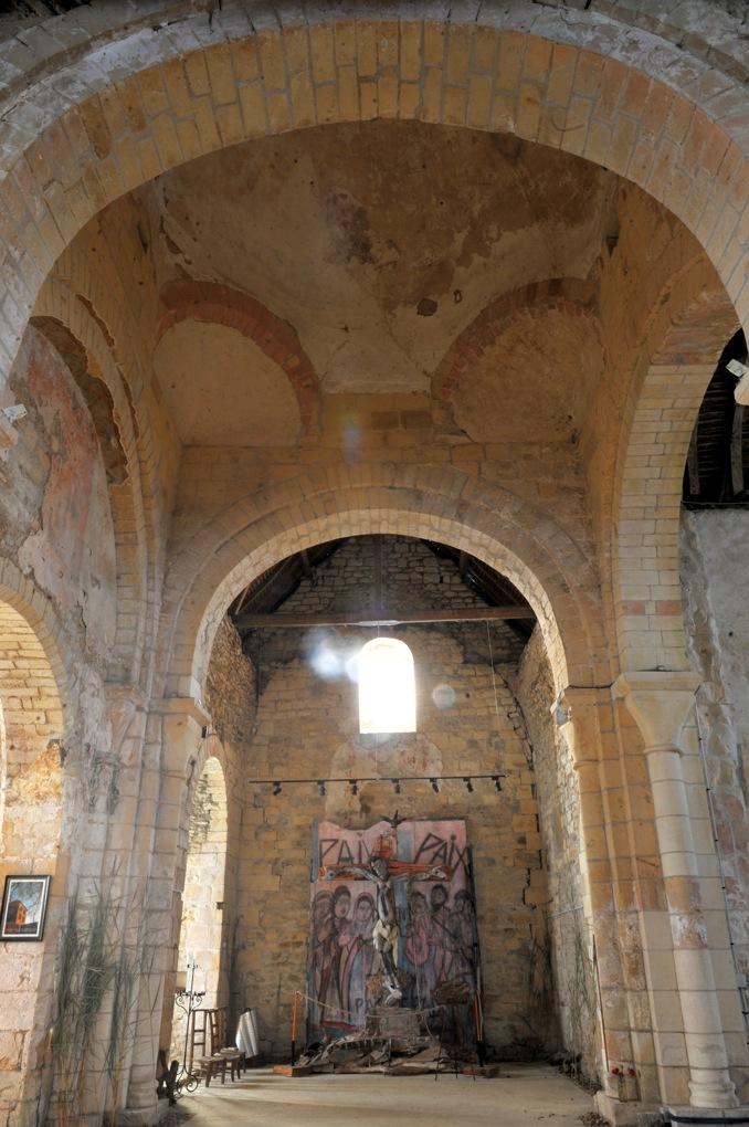 Béard - Eglise Saint-Laurent (XIIe siècle) - Le transept