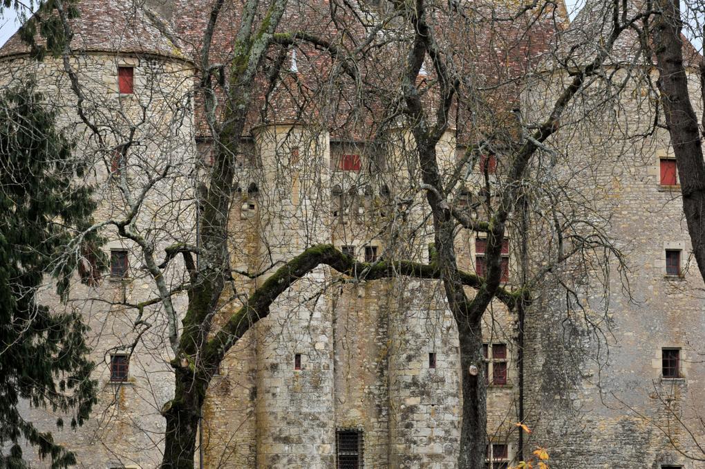 Chevenon - Le château (fin du XIVe siècle)