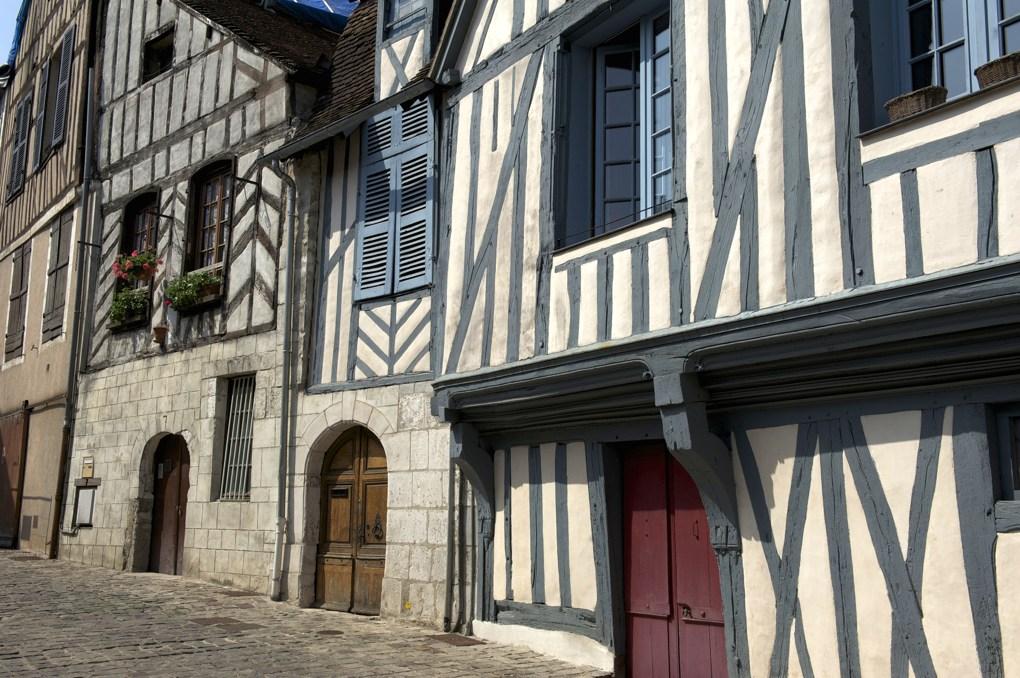 Auxerre - Maisons à pans de bois