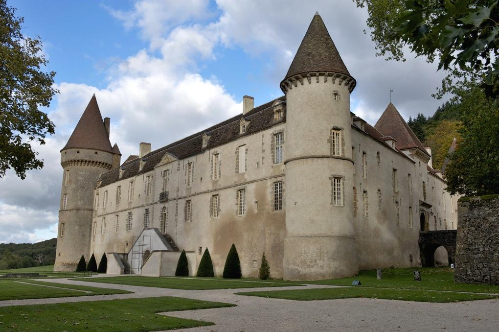 Bazoches - Le château (fin XIIe au XIVe et XVIIe siècles)