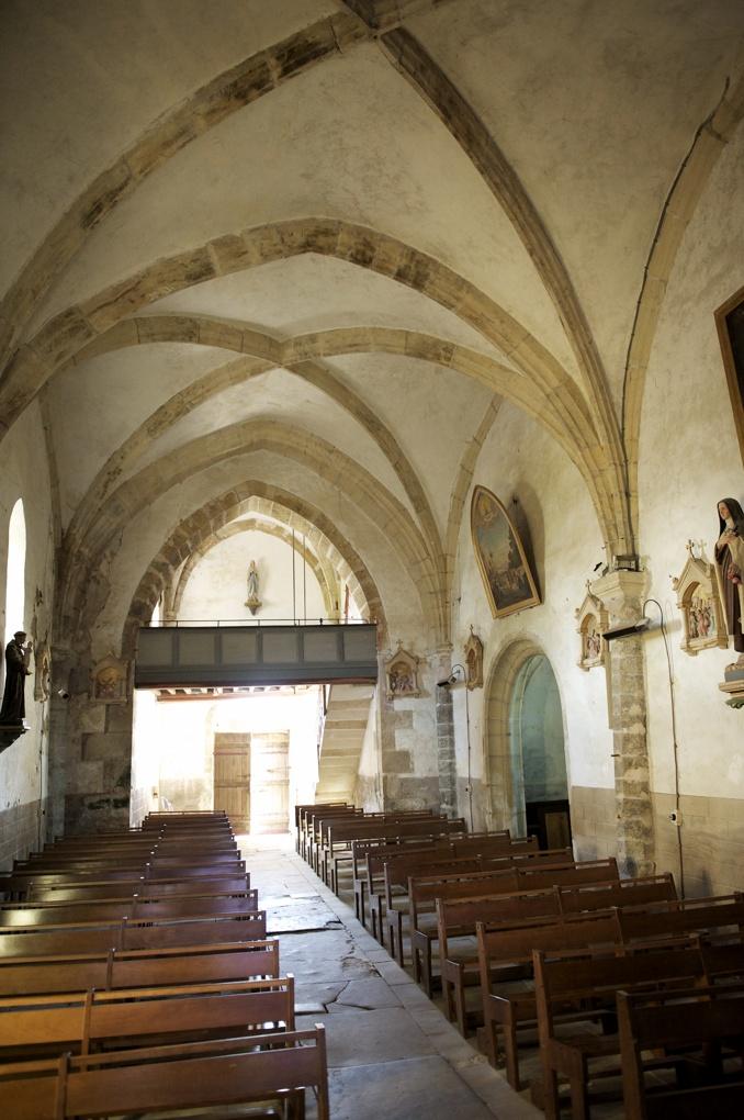 Bazoches - Eglise Saint-Hilaire (fin XIIe, XVIe et XVIIe siècle)
