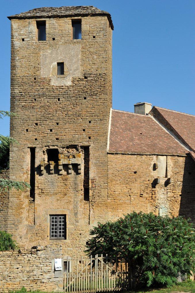 Saint-Vincent-des-Prés - Prieuré-doyenné clunisien de Bézornay
