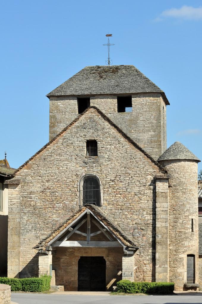 Bissy-la-Mâconnaise - Eglise Saint-Cyr-et-Sainte-Julitte (XIIe siècle)