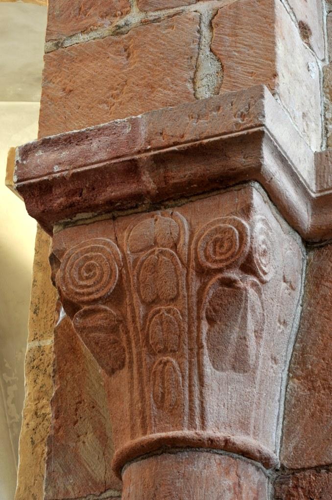 Saint-Vincent-Bragny - Eglise Saint-Martin (XIIe siècle) - Chapiteau