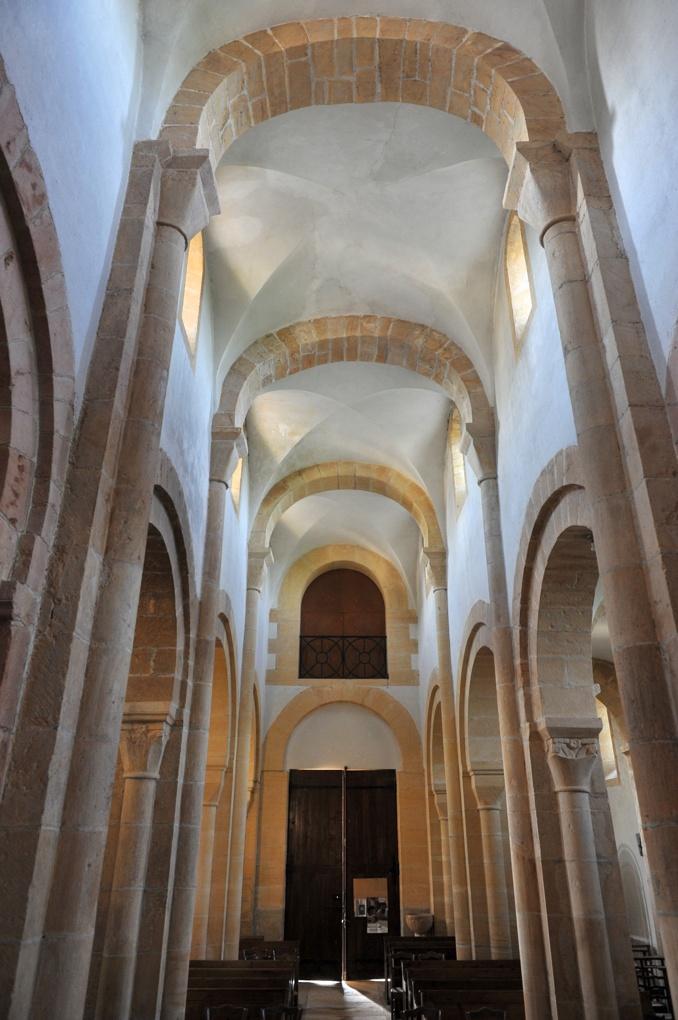 Saint-Vincent-Bragny - Eglise Saint-Martin (XIIe siècle) - La nef