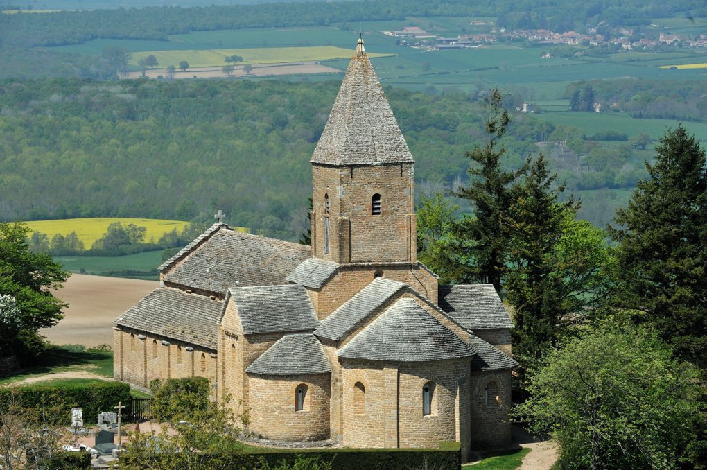 Martailly-lès-Brancion - Eglise Saint-Pierre de Brancion (XIIe siècle)