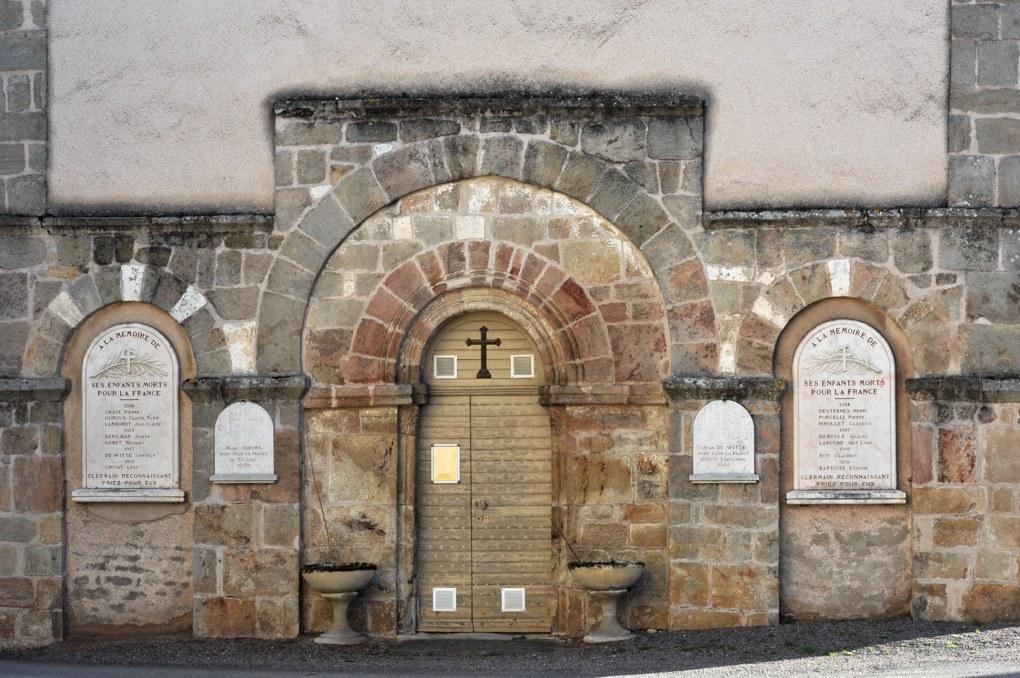 Clermain - Eglise Notre-Dame (XIIe et XIIIe siècle)