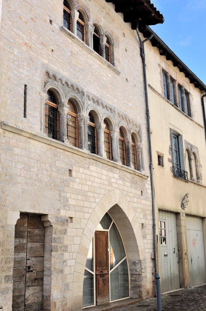 Cluny - Maison romane (XIIe siècle)