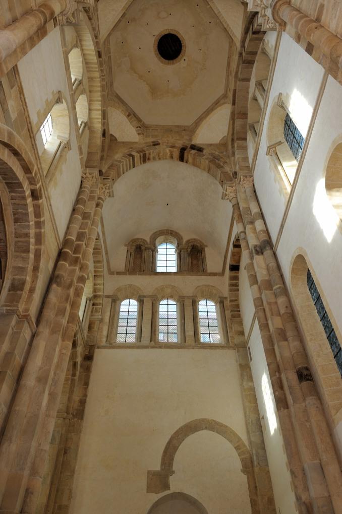 Cluny - Abbaye Saint-Pierre-et-Saint-Paul - Bras sud du grand transept (v. 1100-1120)