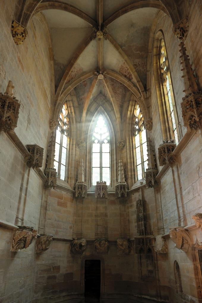 Cluny - Abbaye Saint-Pierre-et-Saint-Paul - Chapelle Jean de Bourbon (1456-1485)