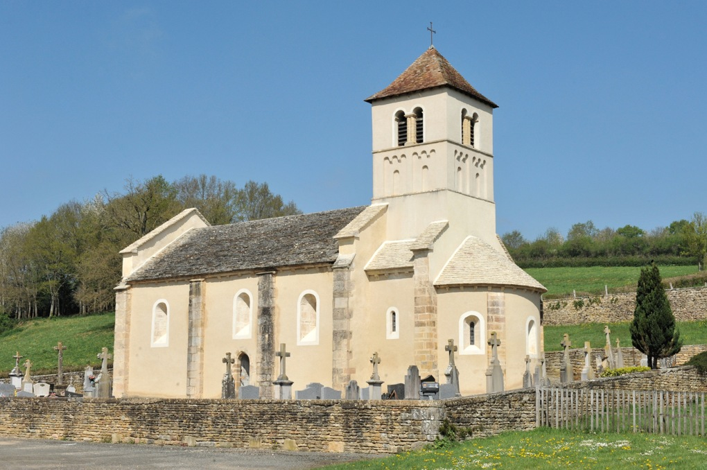 Saint-Marcelin-de-Cray - Eglise Saint-Paul (XIIe siècle)