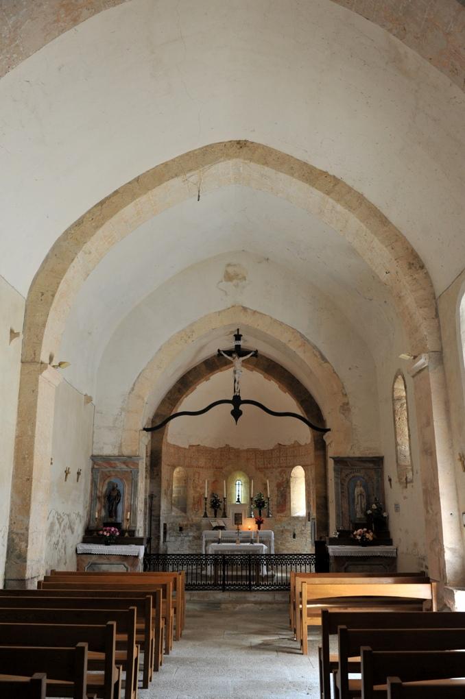 Saint-Marcelin-de-Cray - Eglise Saint-Paul (XIIe siècle)