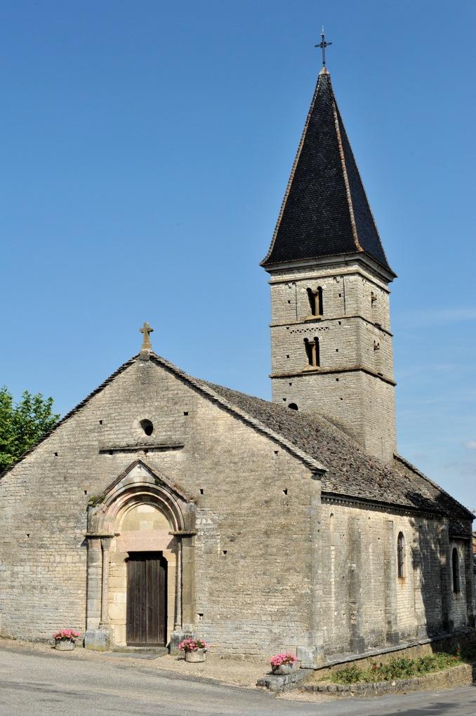 Farges-lès-Mâcon - Eglise Saint-Barthélémy (XIe-XIIe siècle)