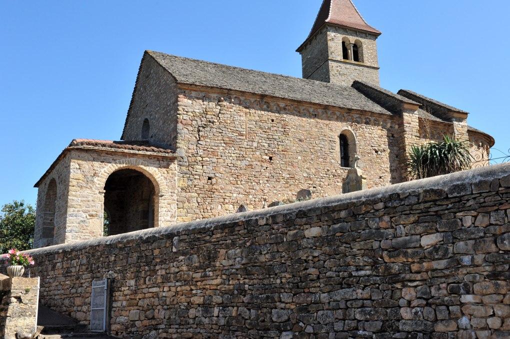 Jalogny - Chapelle de Vaux (XIe et XIIe siècle)