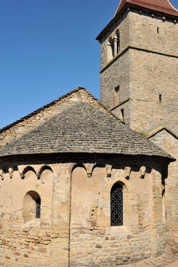 Jalogny - Chapelle de Vaux (XIe-XIIe siècle)