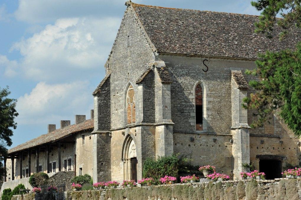 Montbellet - Maison templière : chapelle (XIIIe siècle) et logis (XVe siècle)
