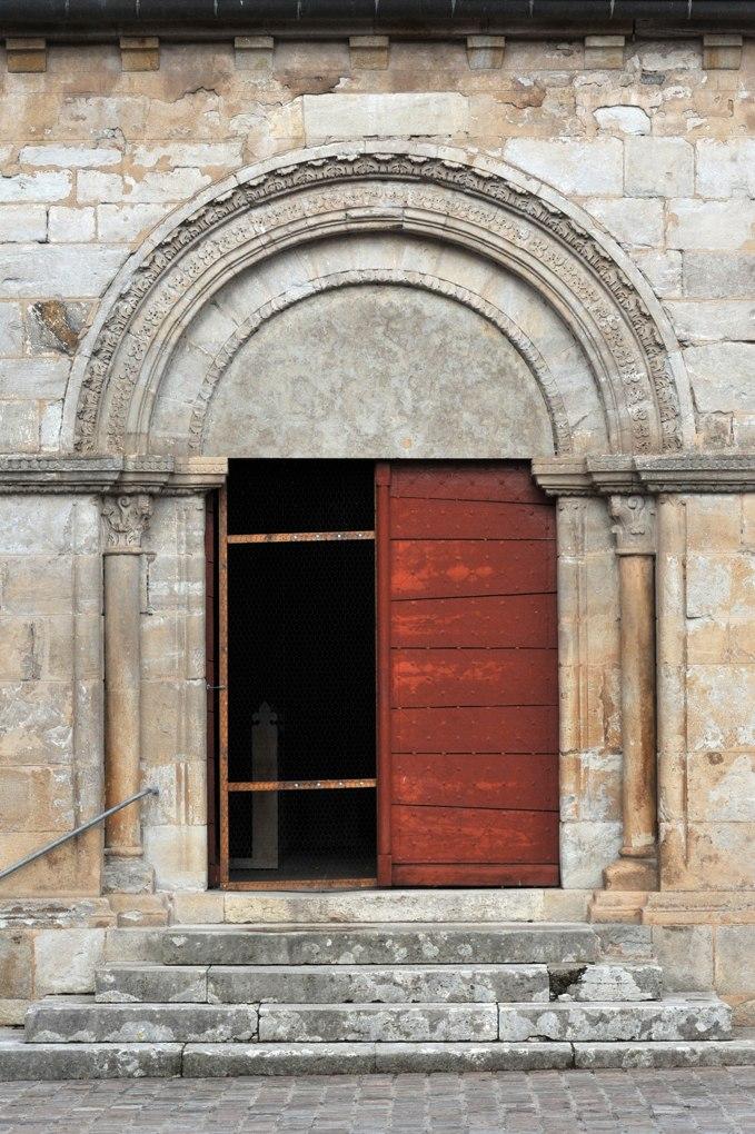 Rouy - Eglise Saint-Germain (XIIe siècle) - Portail sud