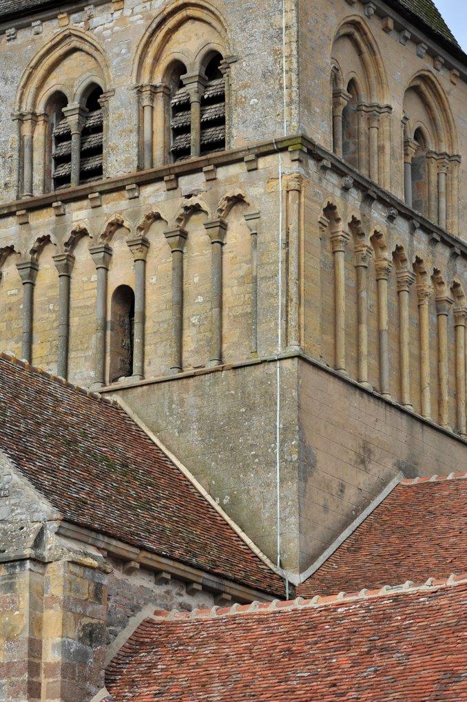Rouy - Eglise Saint-Germain (XIIe siècle) - Le clocher