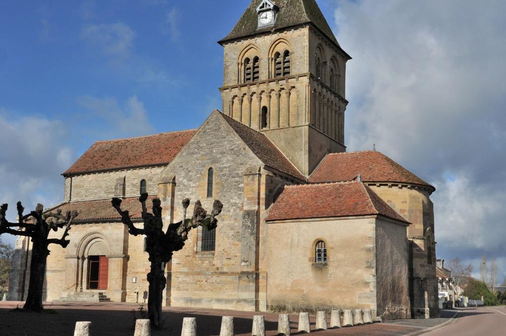 Rouy - Eglise Saint-Germain (XIIe siècle)