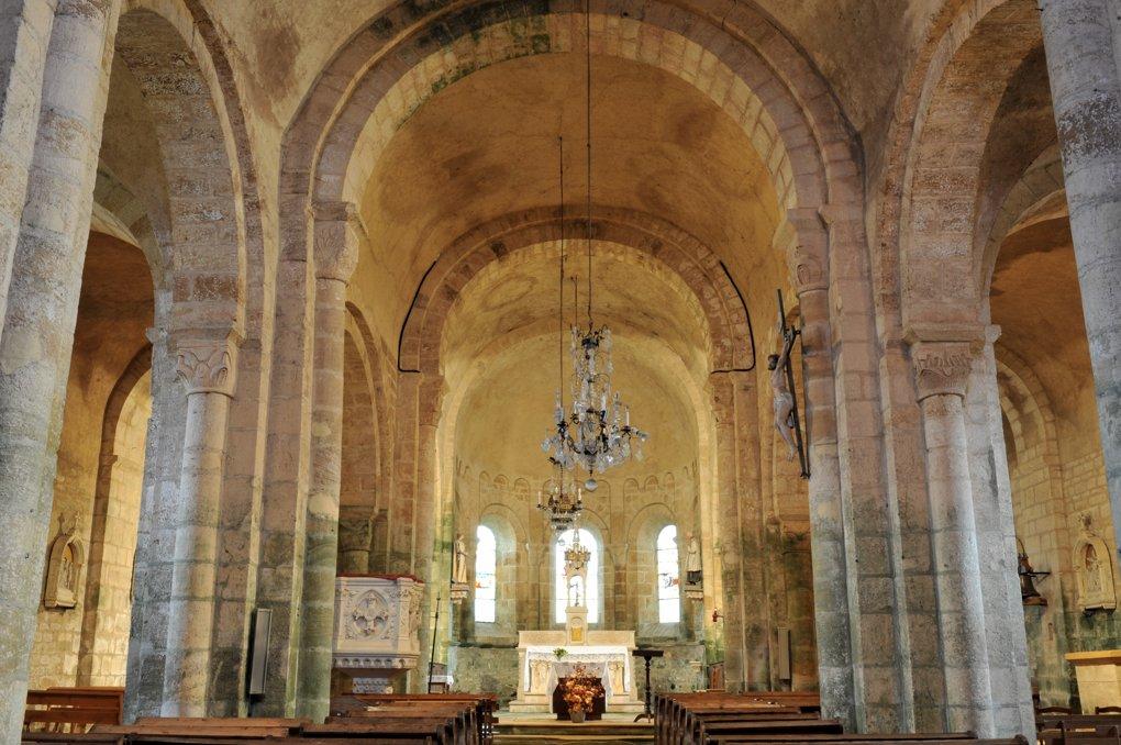 Saint-Germain-en-Brionnais - Eglise Saint-Germain-et-Saint-Benoît (XIIe siècle)