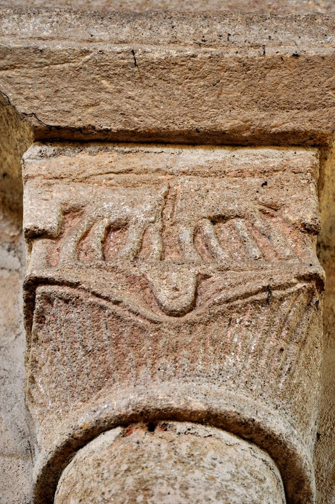 Saint-Germain-en-Brionnais - Eglise Saint-Germain-et-Saint-Benoît (XIIe siècle) : chapiteau