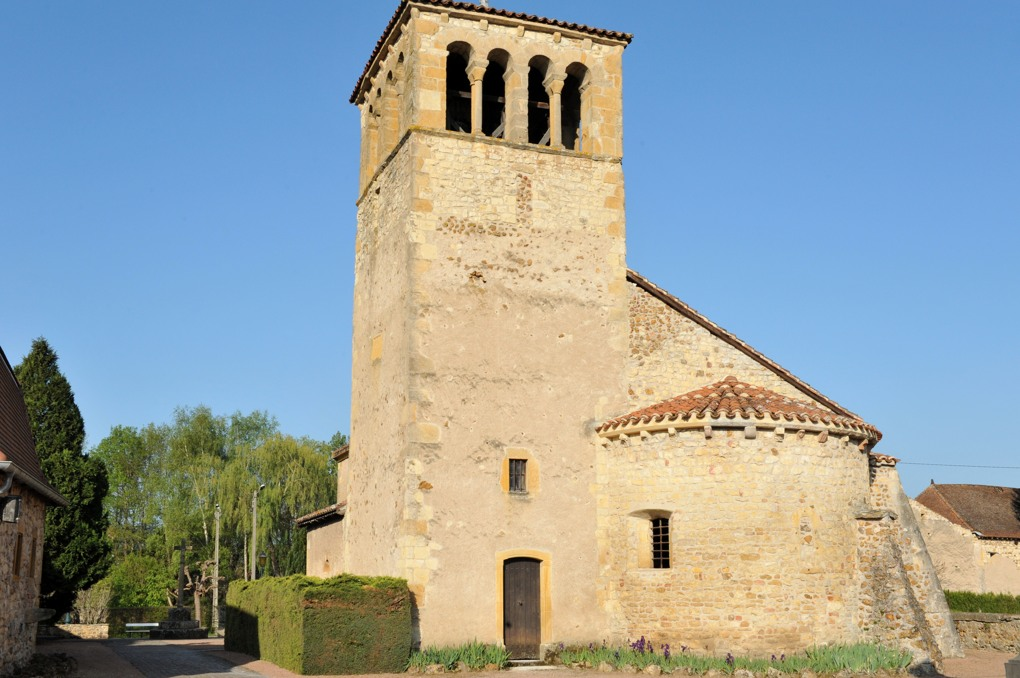 Saint-Martin-du-Lac - Eglise saint-Martin (XIIe siècle)