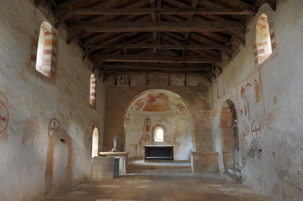 Semur-en-Brionnais - Eglise Saint-Martin-la-Vallée (XIIe siècle)