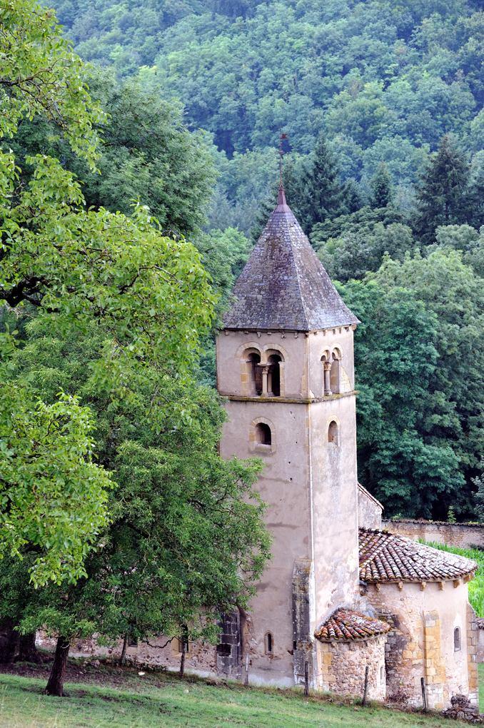 Semur-en-Brionnais - Eglise Saint-Martin-la-Vallée (début du XIIe siècle)
