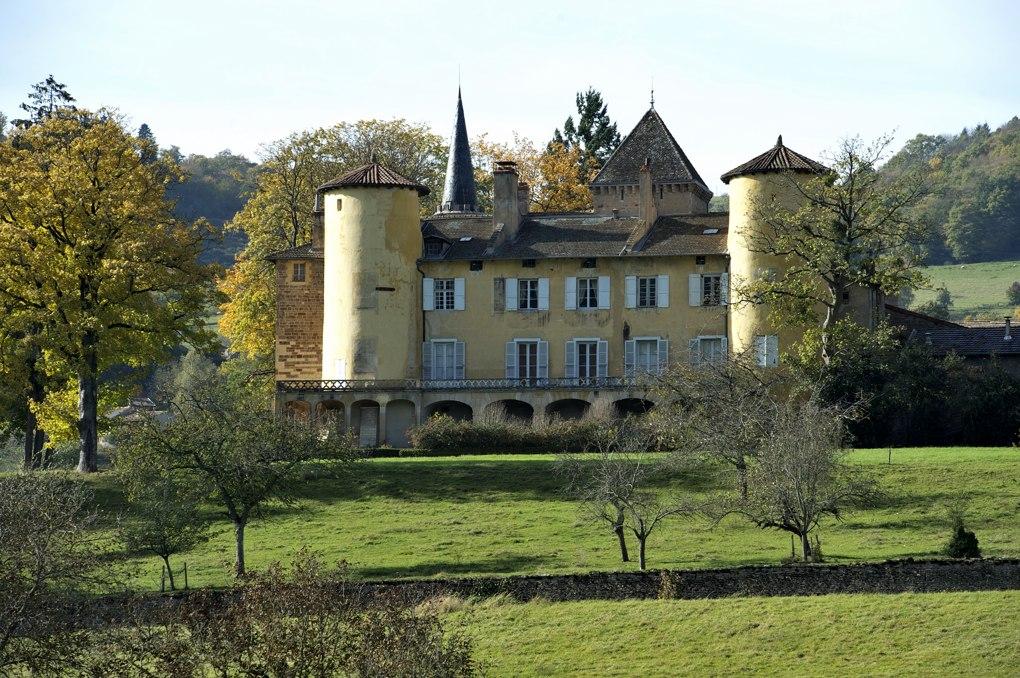 Saint-Point - Le château de Lamartine (XIIe-XVIe siècle)