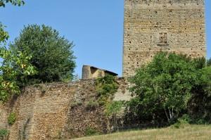 Semur-en-Brionnais (71) - Le Château Saint-Hugues (Xe-XIVe siècle) - le donjon (Xe siècle)