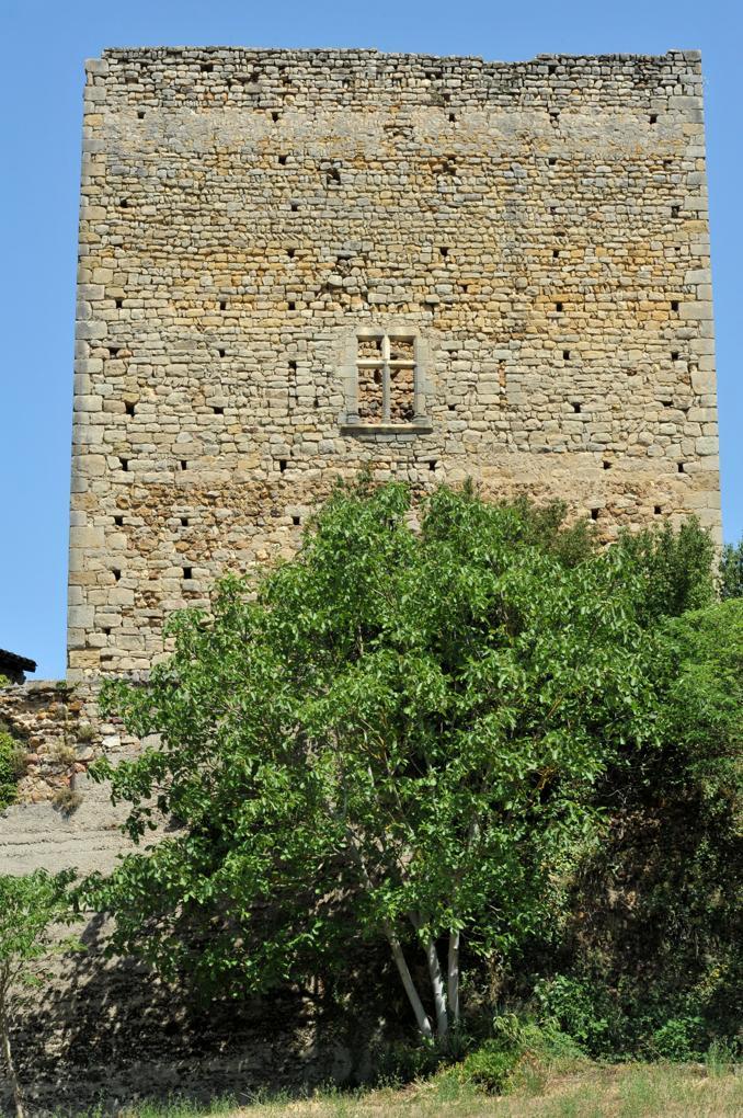 Semur-en-Brionnais - Le Château Saint-Hugues - Donjon