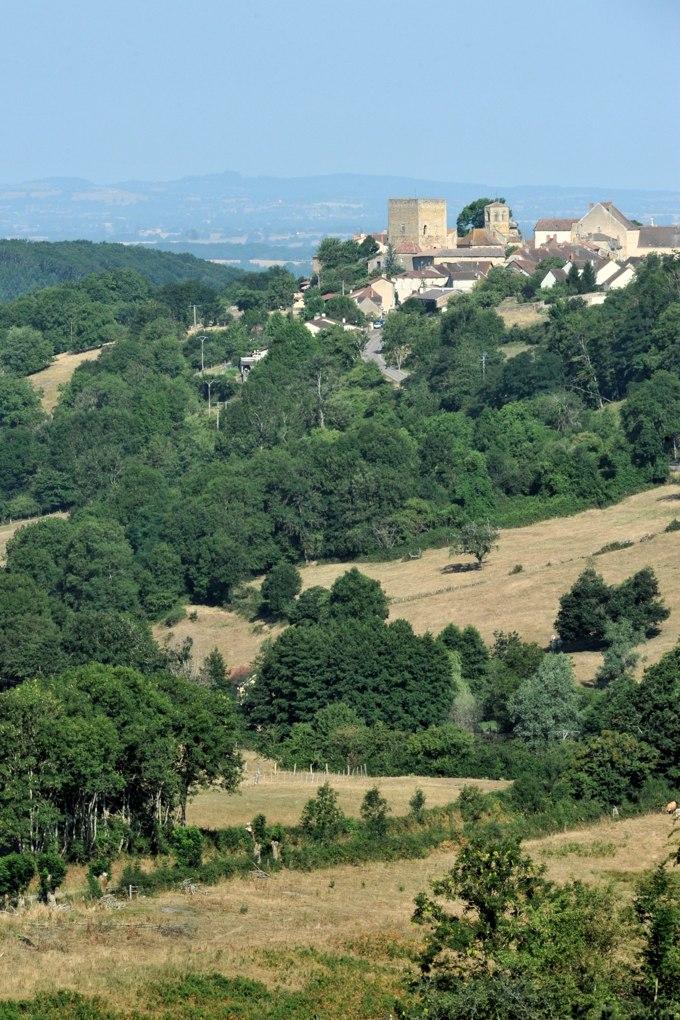 Semur-en-Brionnais - Le village
