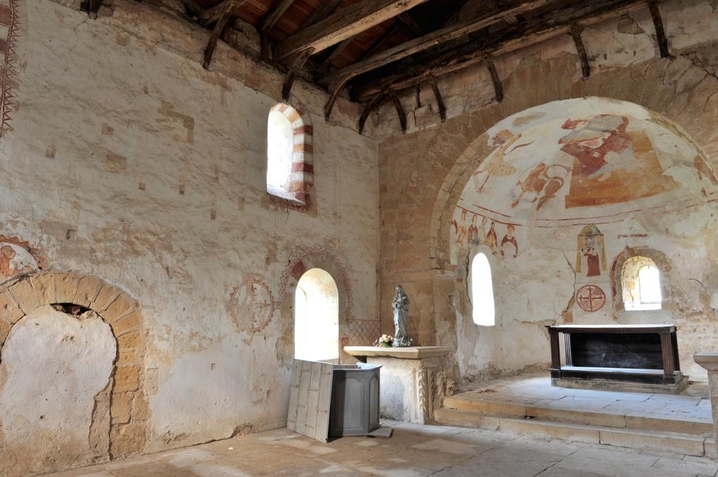 Semur-en-Brionnais - Semur-en-Brionnais - Eglise Saint-Martin-la-Vallée (début XIIe siècle ?)