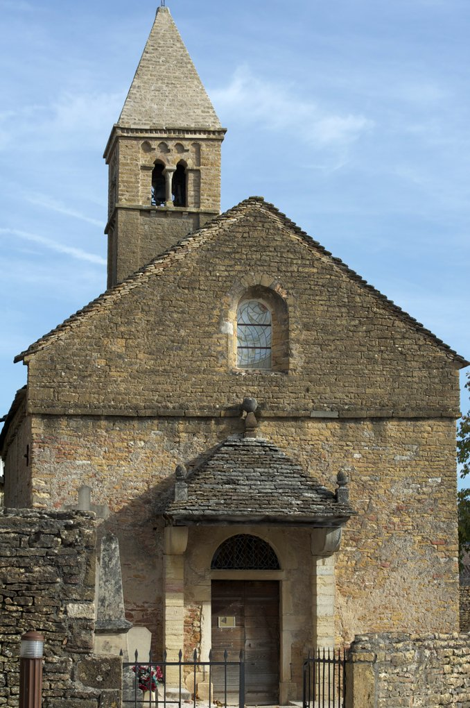 Taizé - Eglise Sainte-Marie-Madeleine (XIe-XIIe siècle)
