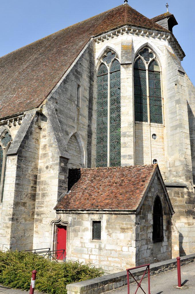 Tonnerre - Hôtel-Dieu Notre-Dame des Fontenilles (XIIIe siècle) : chevet