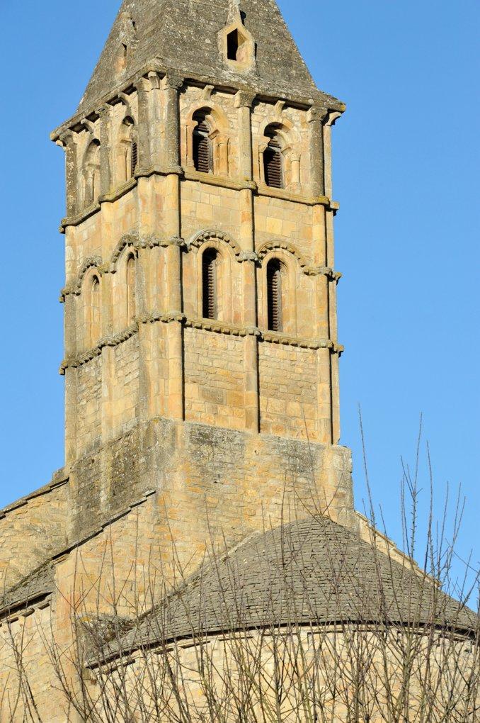 Vareilles - Eglise Saint-Martin (XIIe siècle) - Le clocher