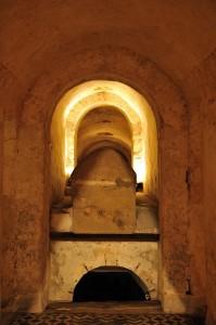 Auxerre - Abbaye Saint-Germain : le tombeau du saint (Ve-IXe siècle)