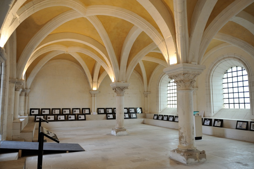 Auxerre - Abbaye Saint-Germain : salle capitulaire (v. 1160-1170)