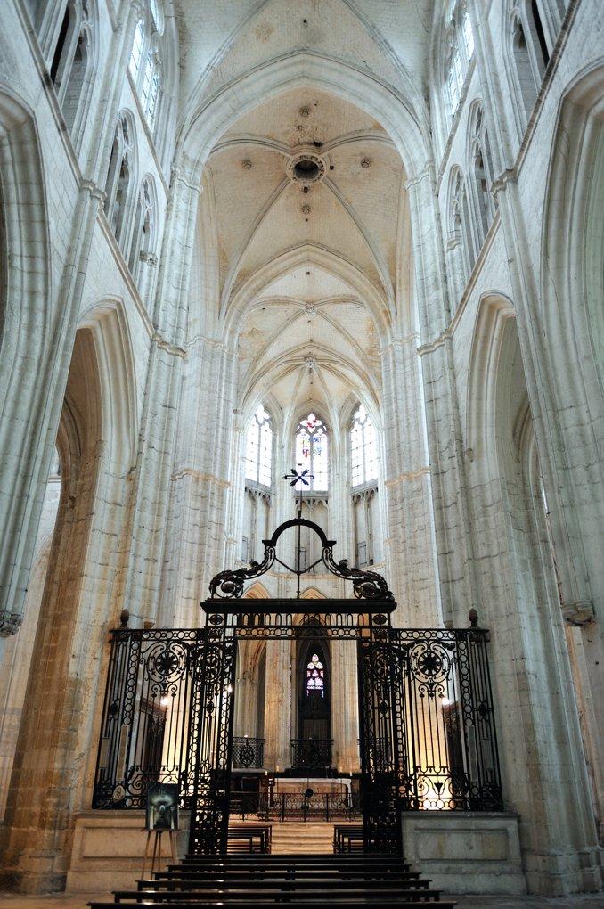 Auxerre - Abbaye Saint-Germain - Abbatiale (XIIIe-XIVe siècle)
