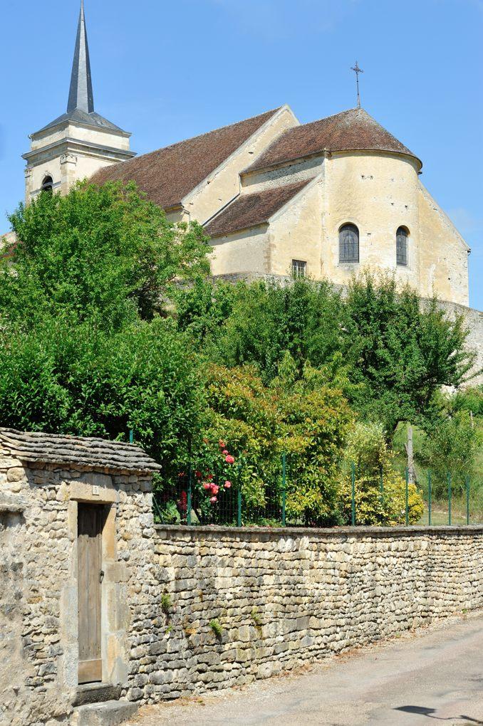 Asquins - Eglise Saint-Jacques le Majeur (XIIe-XIIIe siècle)