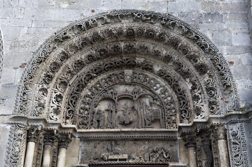 Avallon - Eglise Saint-Lazare - Portail sud (v. 1170)
