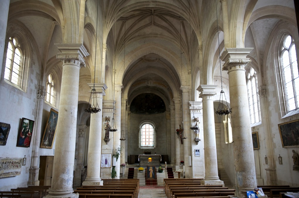 Châtel-Censoir - Collégiale Saint-Potentien (2e quart XIe et XVIe siècle)